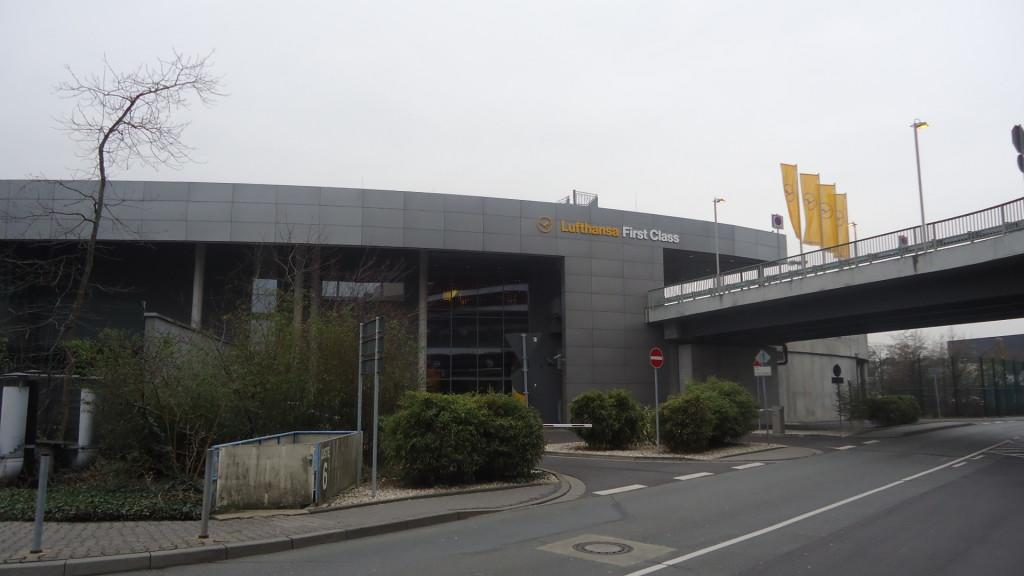 Обзор: Lufthansa First Class Terminal, Франкфурт