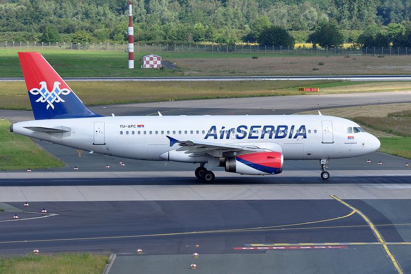 Air Serbia объявляет о полетах в Санкт-Петербург