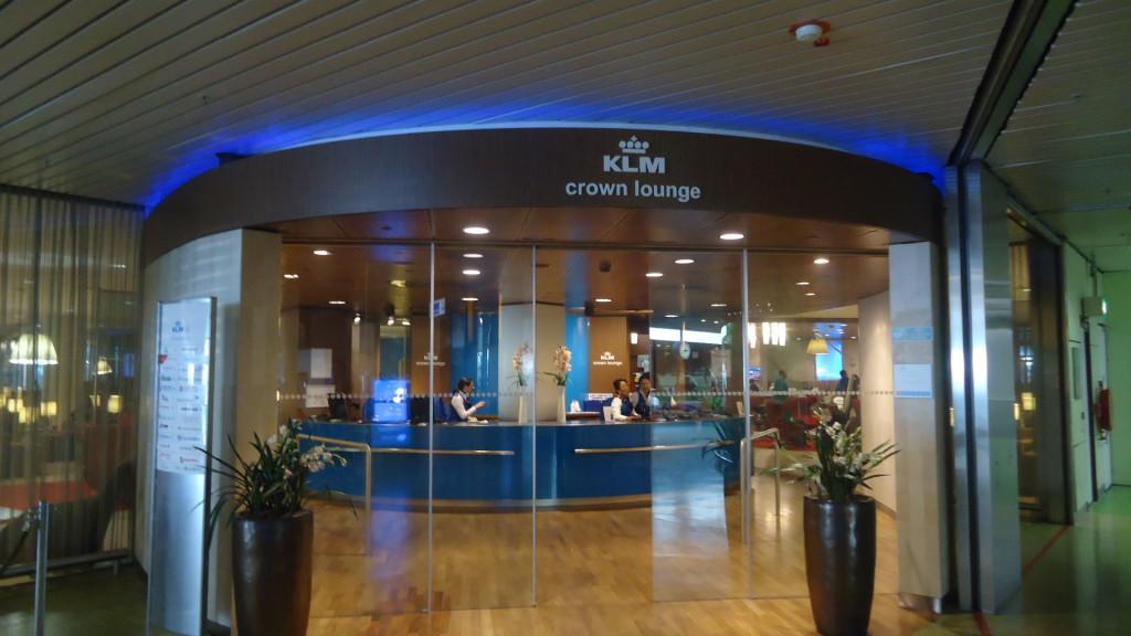 Обзор: KLM Crown Lounges, Амстердам