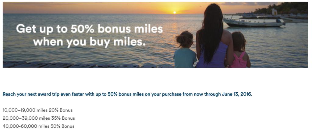 Alaska вновь продает мили с 50% бонусом