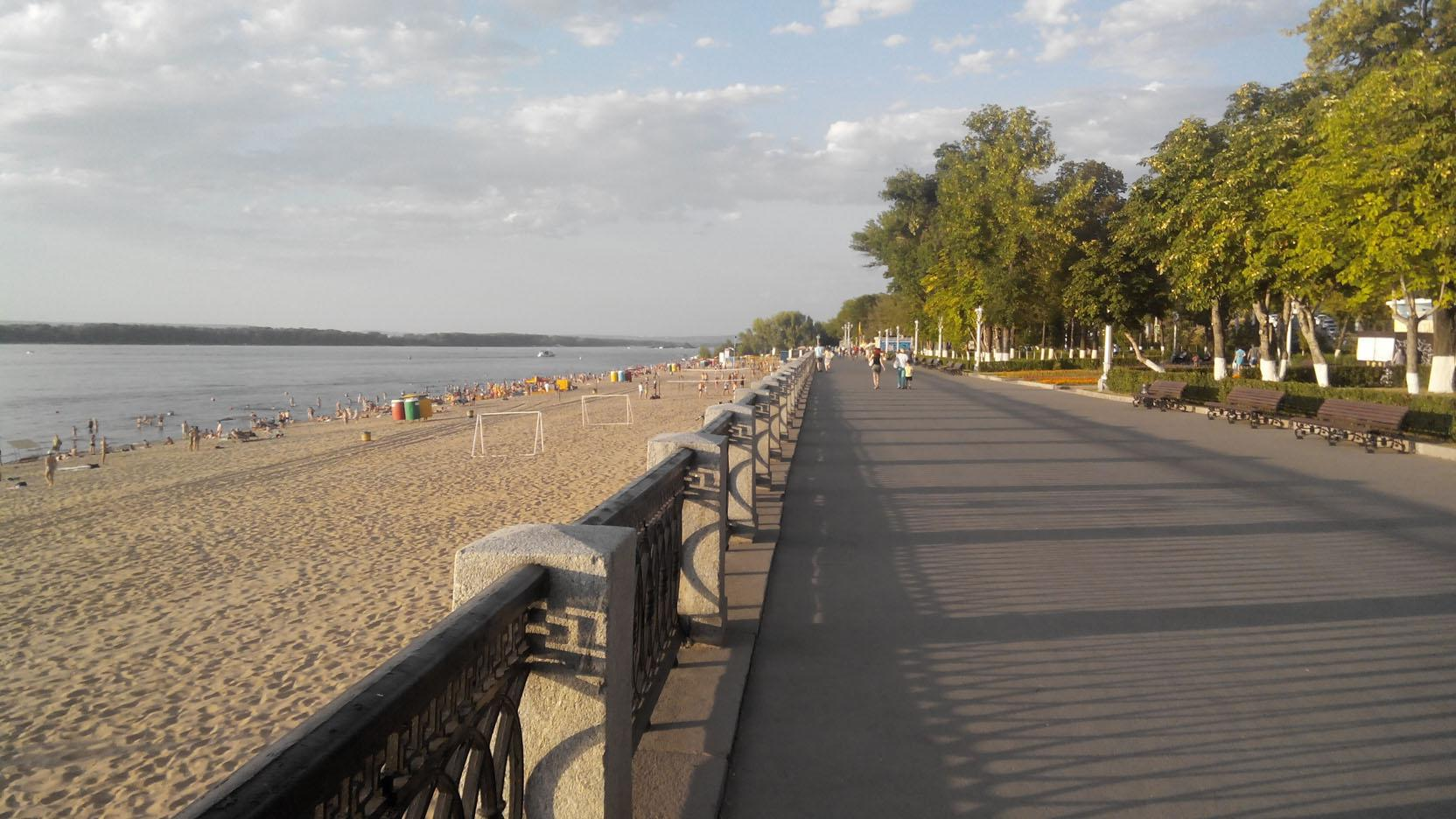 Самарский пляж девушки фото