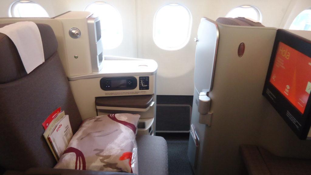 Обзор: Iberia, бизнес-класс, Мехико – Мадрид
