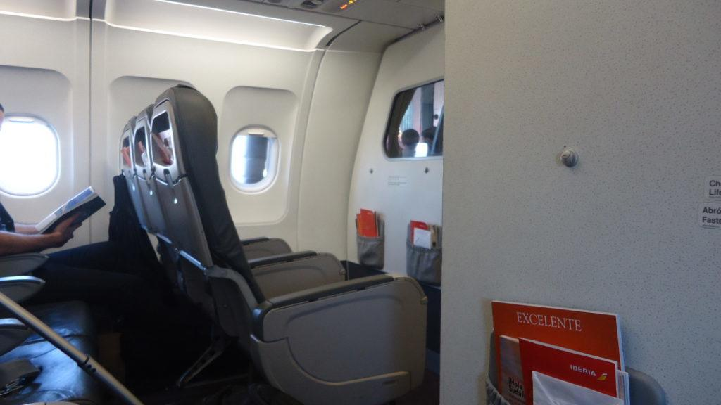 Обзор: Iberia, бизнес-класс, Мадрид – Виго