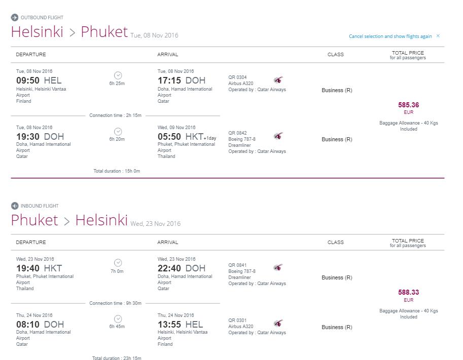 Qatar Airways: Фестиваль путешествий до 5 сентября