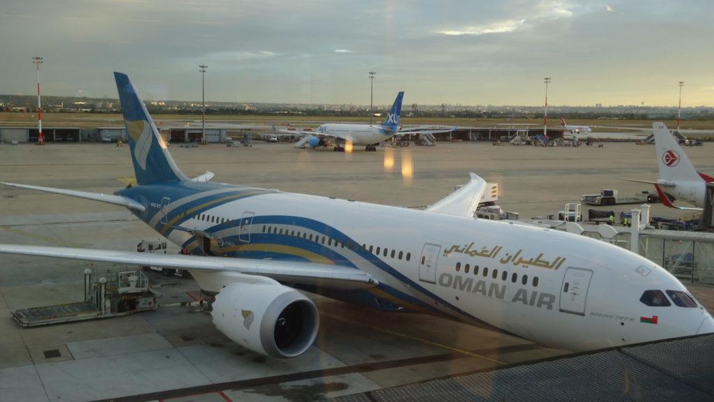 Первые впечатления от Oman Air