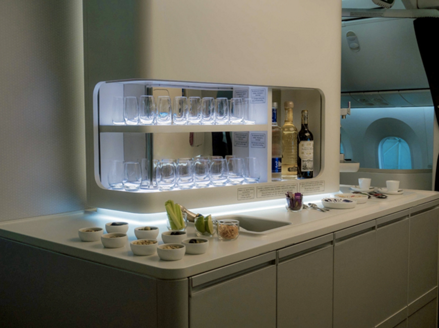 В новом бизнес-классе Aeromexico будет бар!