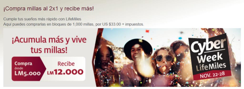 Мили LifeMiles c бонусом 140%!