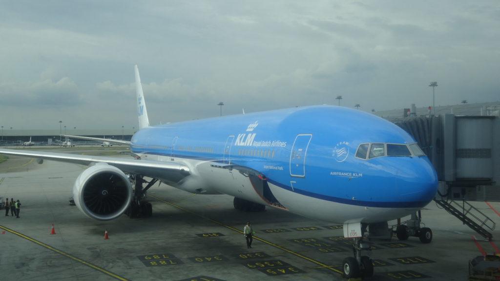 Обзор: KLM, B777, бизнес-класс, Куала-Лумпур – Джакарта