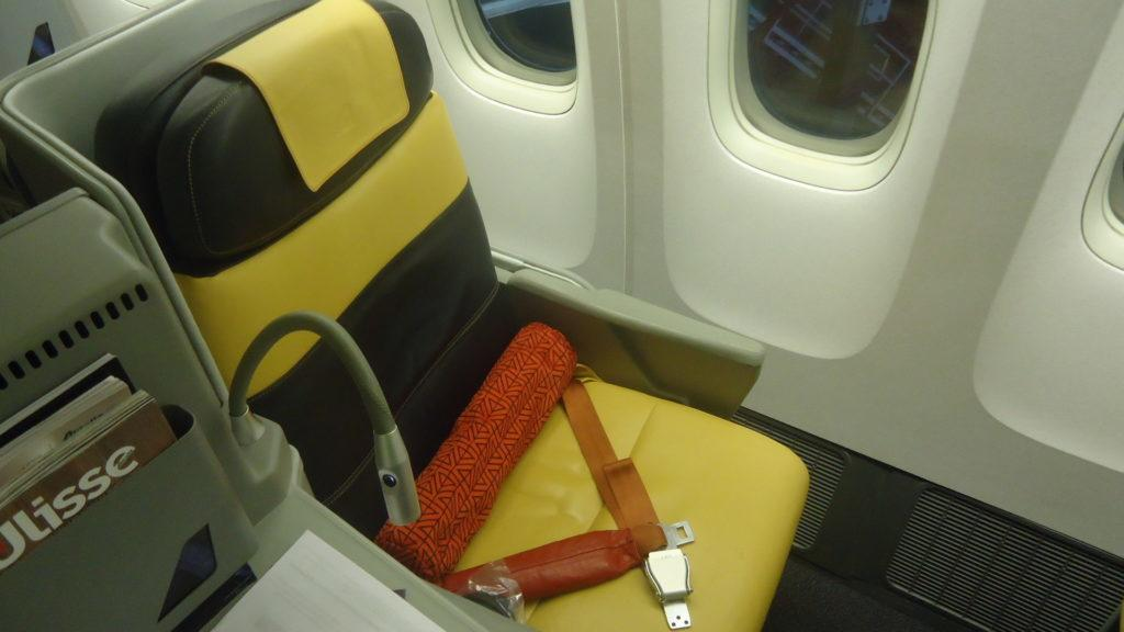Обзор: Alitalia, B777, бизнес-класс, Мехико – Рим