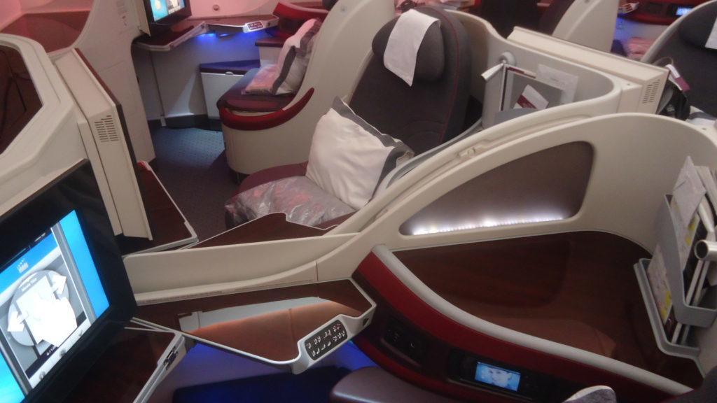 Обзор: Qatar Airways, B787, бизнес-класс, Осло – Доха