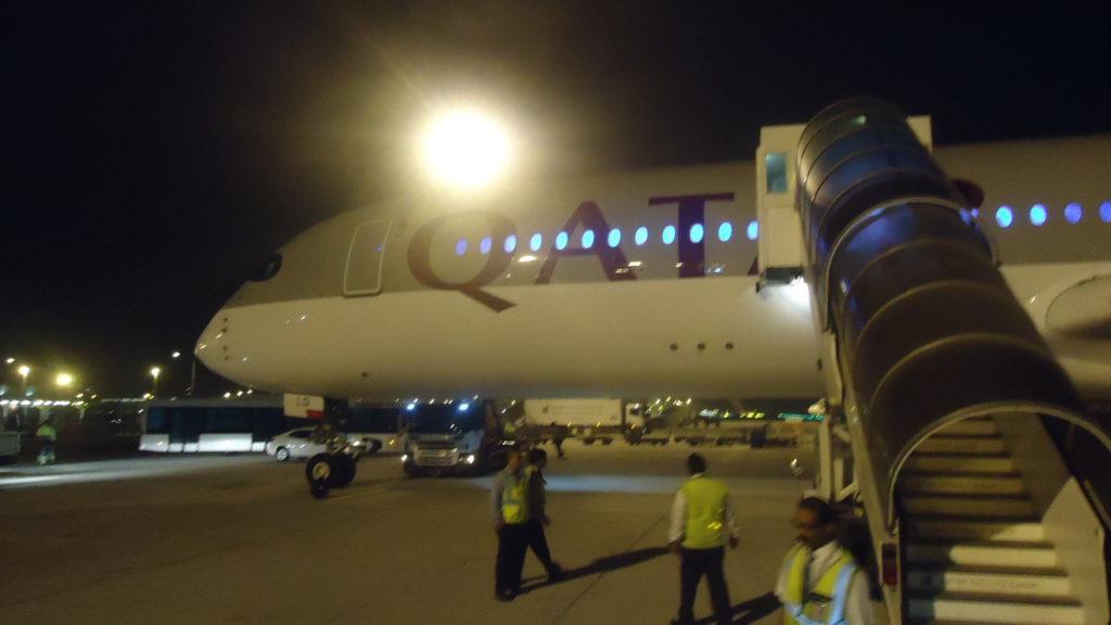 Обзор: Qatar Airways, A350, бизнес-класс, Сингапур – Доха
