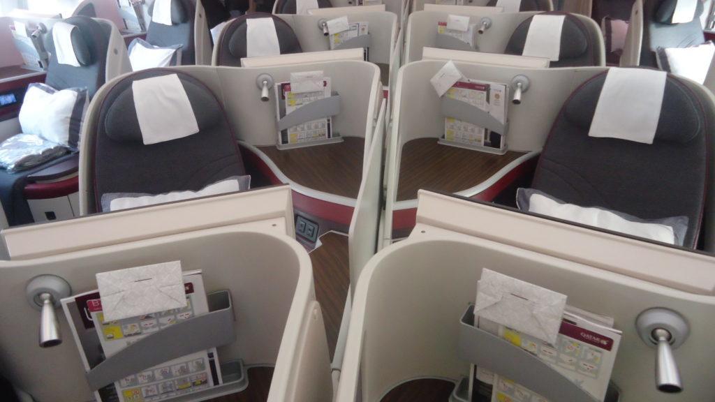 Обзор: Qatar Airways, В787, бизнес-класс, Доха – Осло
