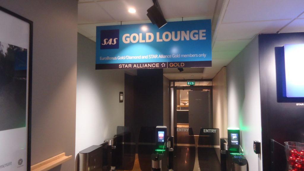 Обзор: SAS Lounge, Осло
