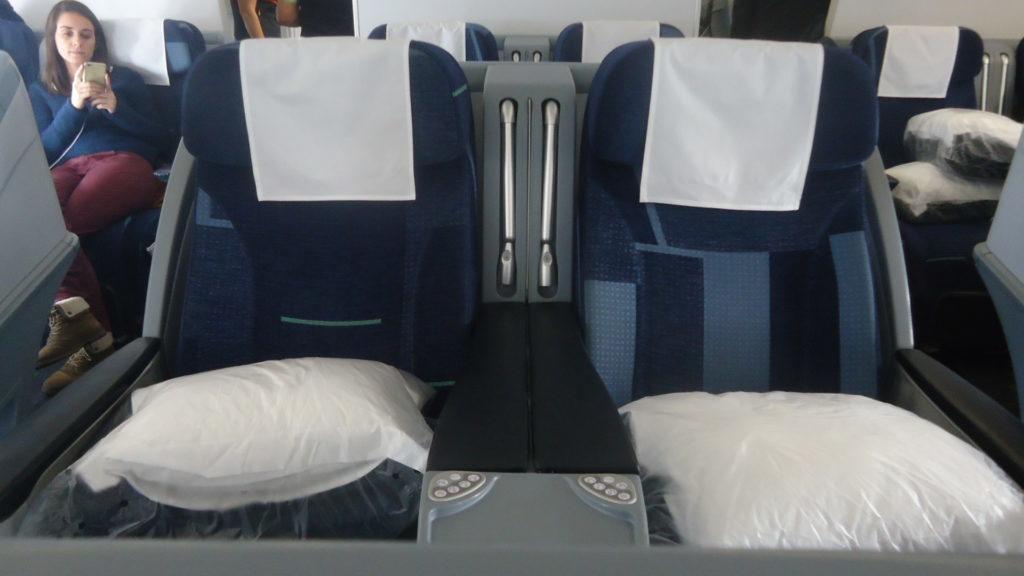 Обзор: TAP, A330, бизнес-класс, Лиссабон – Бостон