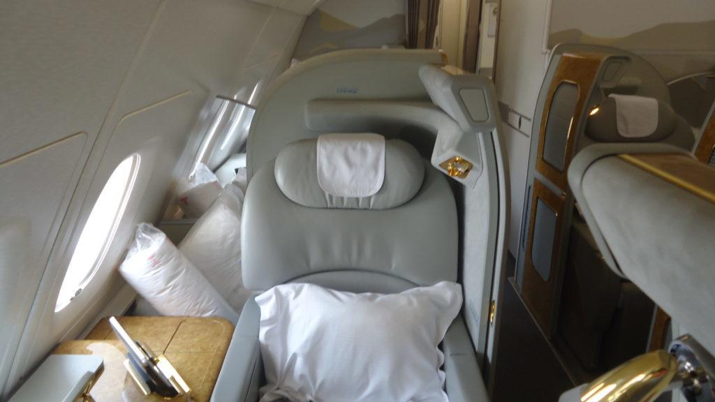 Обзор: Emirates, A380, первый класс, Дубай – Куала-Лумпур