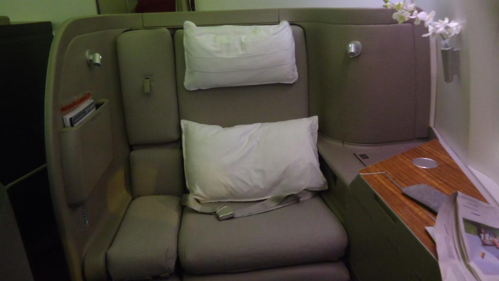 Первые впечатления от первого класса Cathay Pacific
