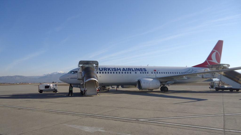 Обзор: Turkish Airlines, В737-800, бизнес-класс, Подгорица – Стамбул