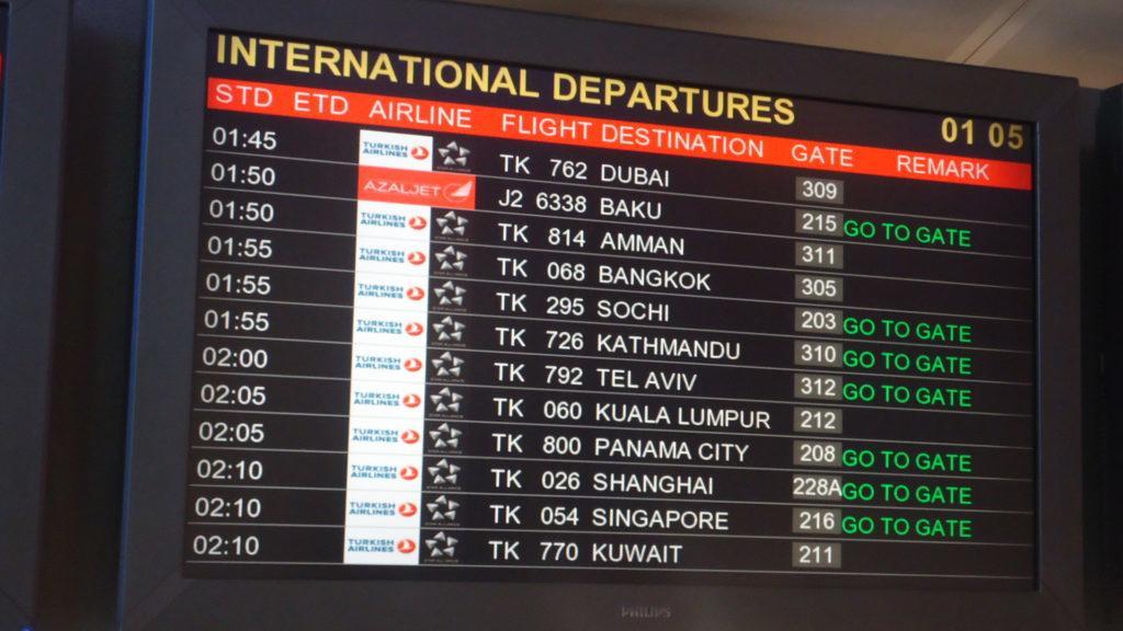 Обзор: Turkish Airlines, A330, бизнес-класс, Стамбул – Панама