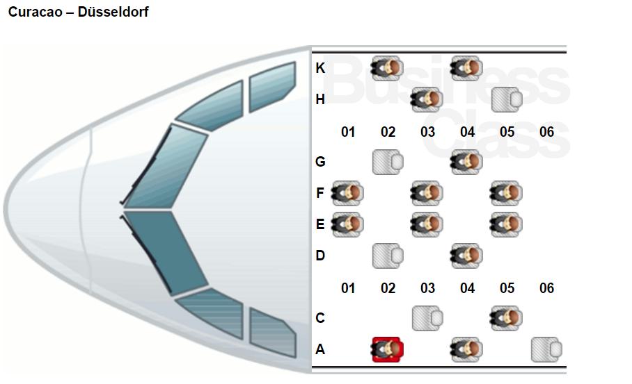 Обзор: Air Berlin, A330, бизнес-класс, Кюрасао – Дюссельдорф