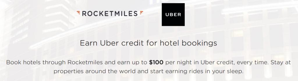 Rocketmiles теперь сотрудничает с Uber!