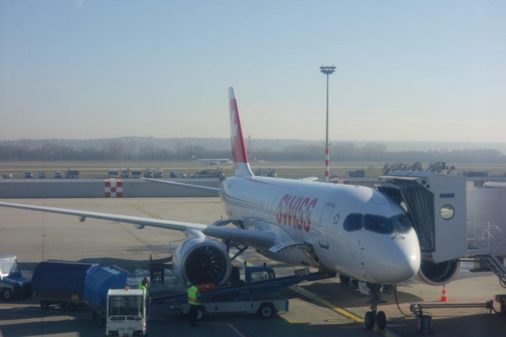 Обзор: Swiss, бизнес-класс, Будапешт – Цюрих