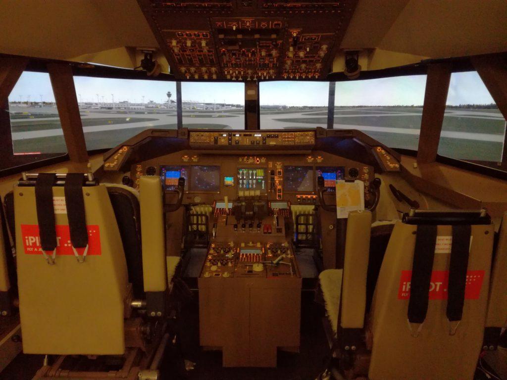 Впечатление: полет на симуляторе, iPilot