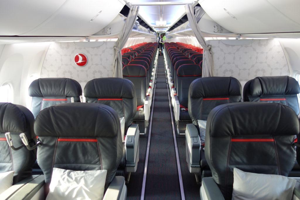 Обзор: Turkish Airlines, B737, бизнес-класс, Стамбул – Вильнюс