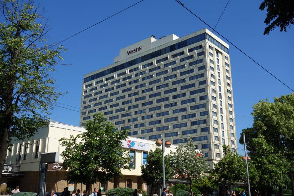 Обзор: Westin, Загреб