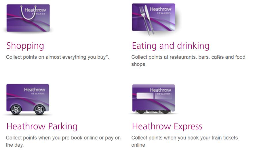 Новая универсальная мильная валюта: Heathrow Rewards