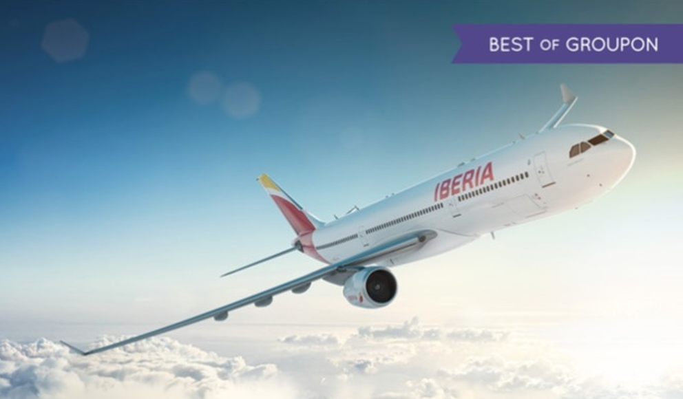 Распродажа avios испанской Iberia на Групоне!