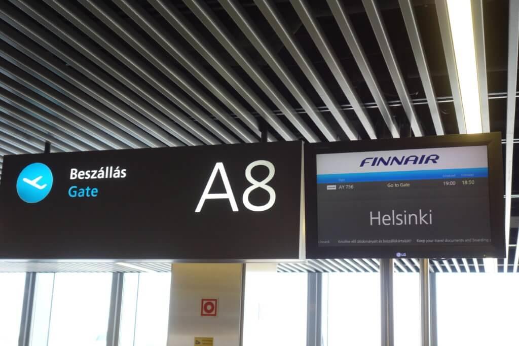 Обзор: Finnair, бизнес-класс, Будапешт – Хельсинки