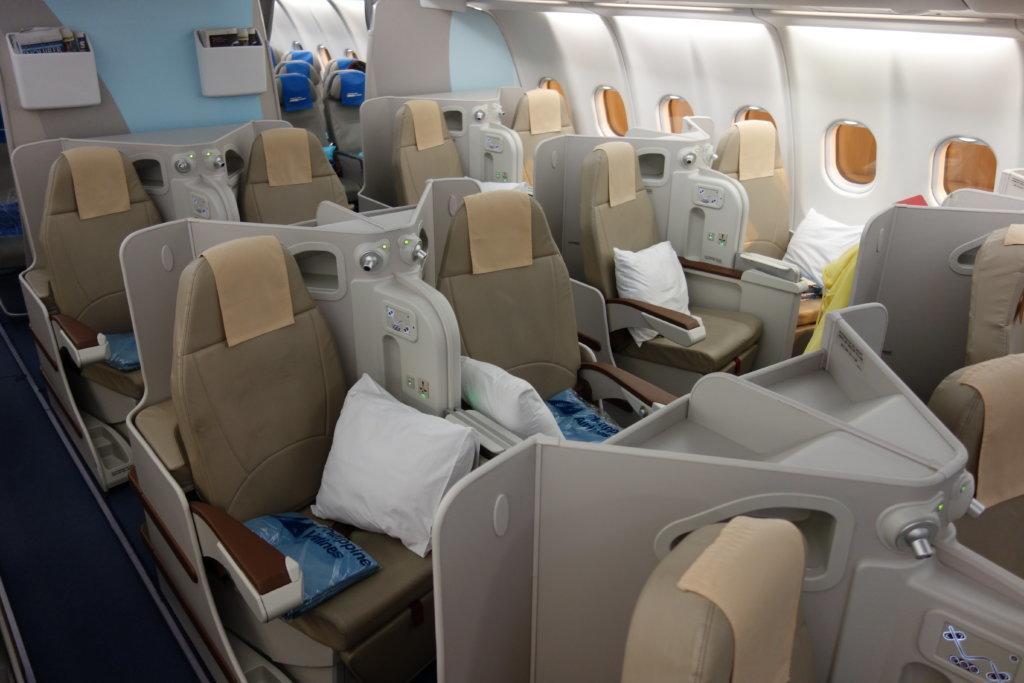 Обзор: Philippine Airlines, бизнес-класс, Манила – Дубай