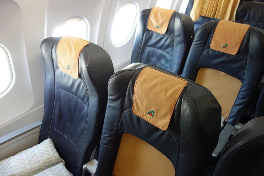 Обзор: Alitalia, бизнес-класс, Рим – Санкт-Петербург