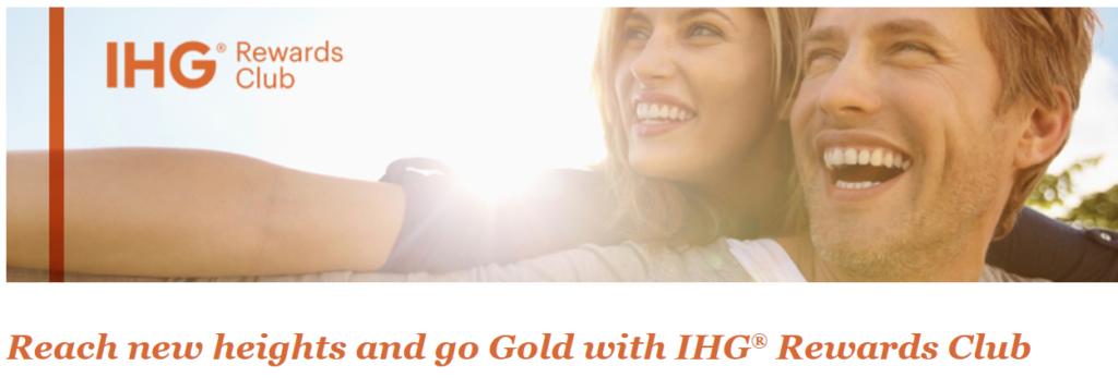 Статус IHG Gold Elite всего за три ночи