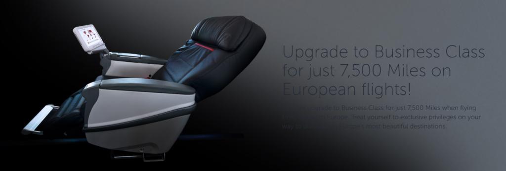 Апгрейд в бизнес-класс Turkish Airlines за 7 500 миль!