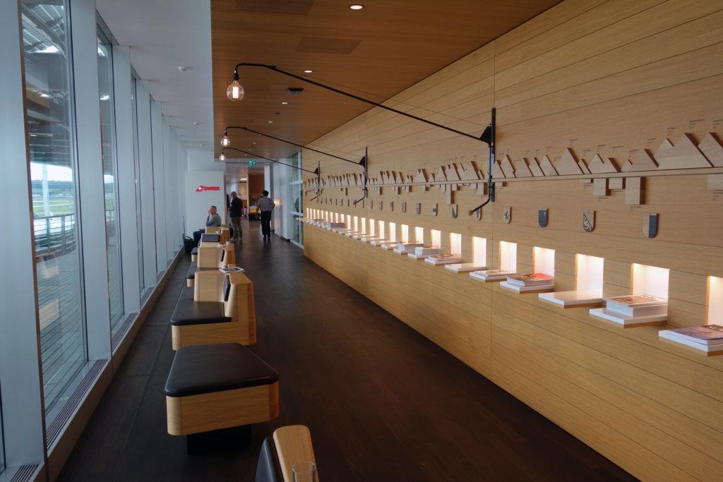 Обзор: Swiss Senator Lounge, Цюрих, гейты Е