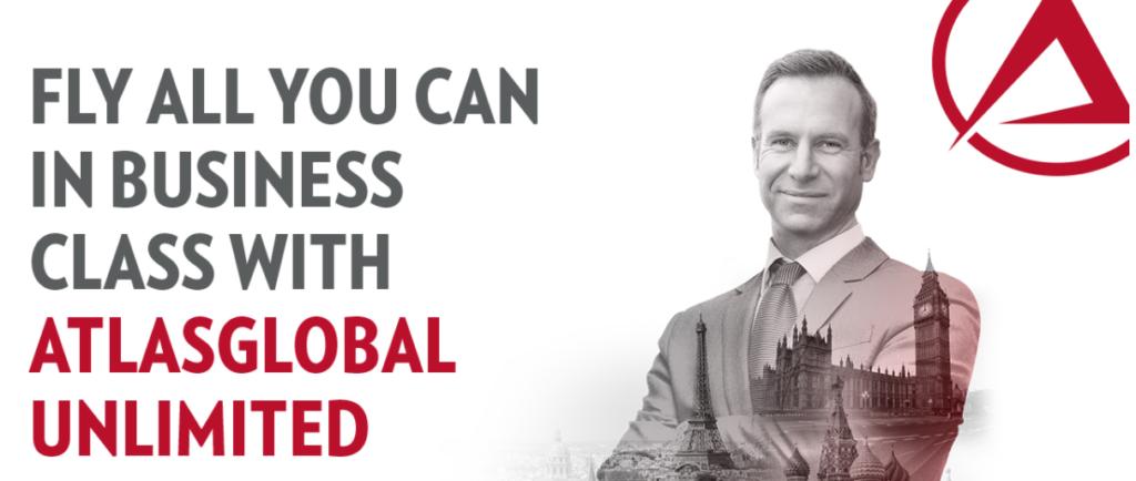 """""""Проездной"""" в бизнес-классе Atlas Global за 3 500 $"""