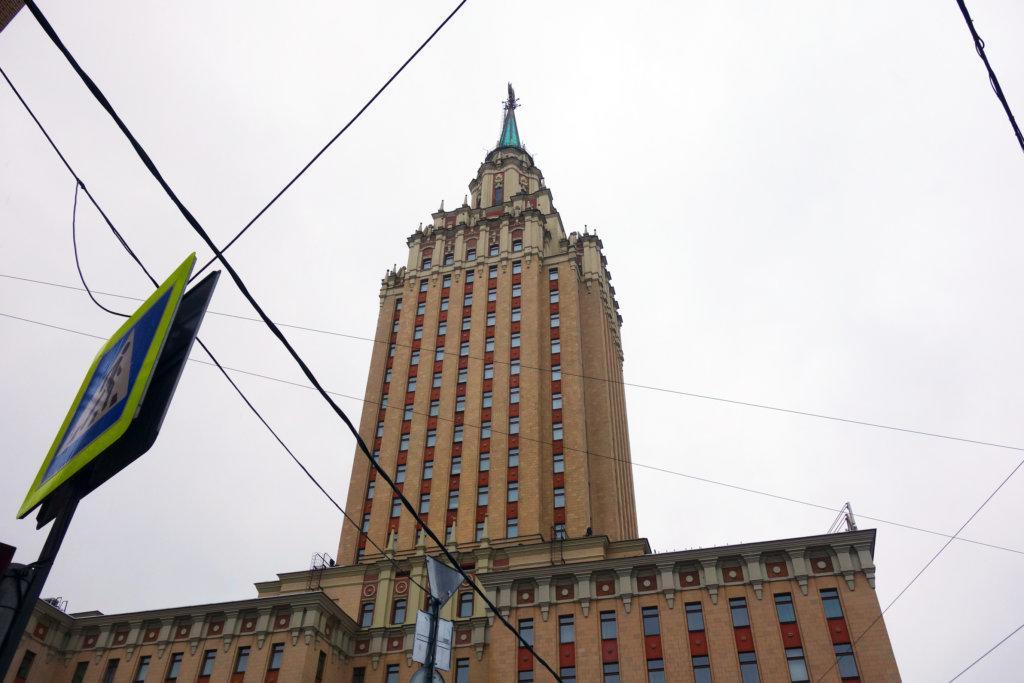 Обзор: Hilton Ленинградская, Москва