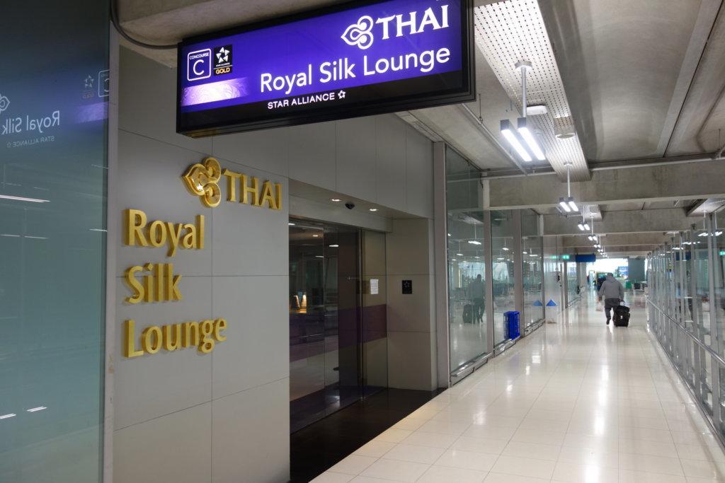 Обзор: Thai Royal Silk Lounge, Бангкок