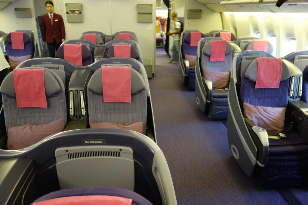 Обзор: Thai Airways, бизнес-класс, Бангкок – Ханой