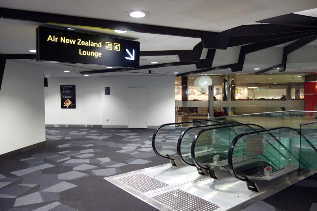 Обзор: Air New Zealand Lounge, Мельбурн
