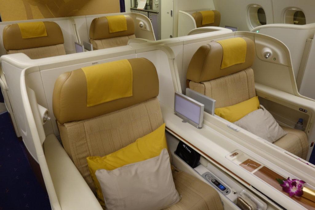 Первый класс Thai Airways, A380, в 5 фотографиях