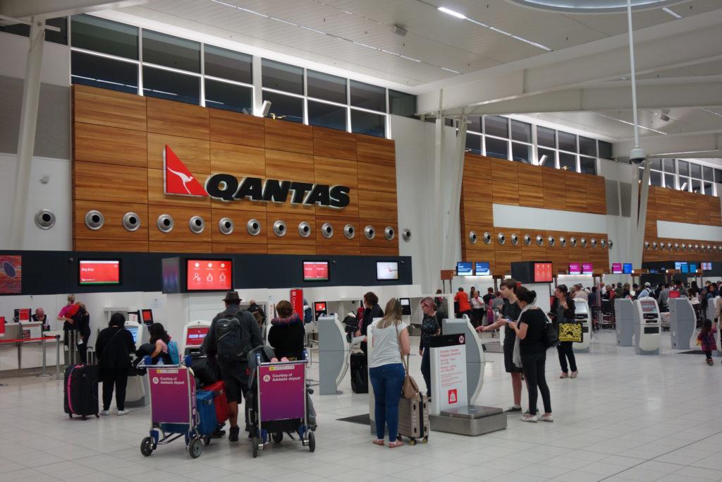 Обзор: Qantas Club, Аделаида