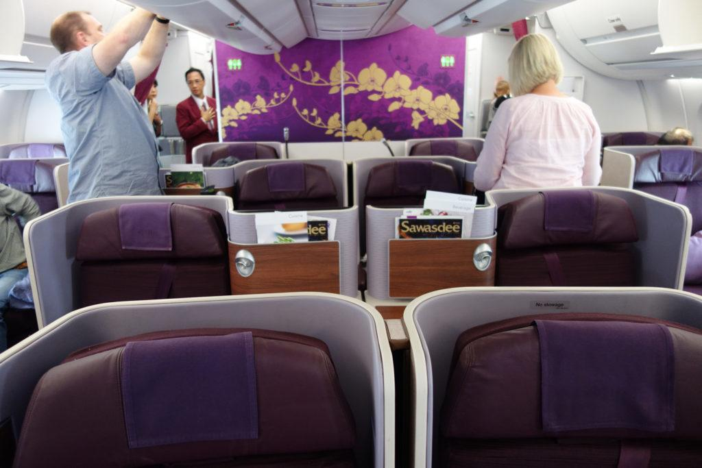 Обзор: Thai Airways, бизнес-класс, Мельбурн — Бангкок