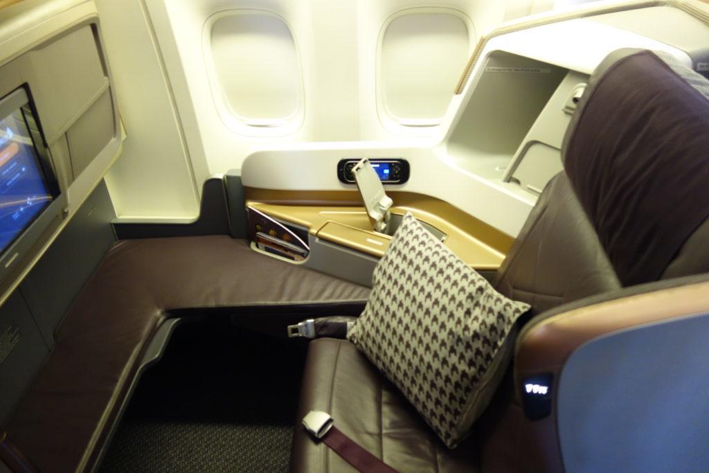 Бизнес-класс Singapore Airlines (B777-300ER) в 5 фотографиях