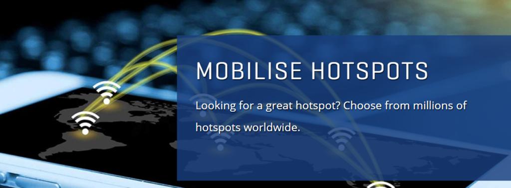 Уф! Интернет через Mobilise работает!