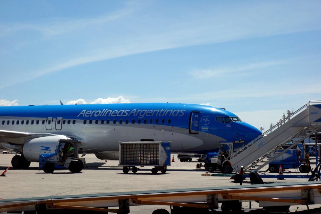 Обзор: Aerolineas Argentinas, эконом-класс