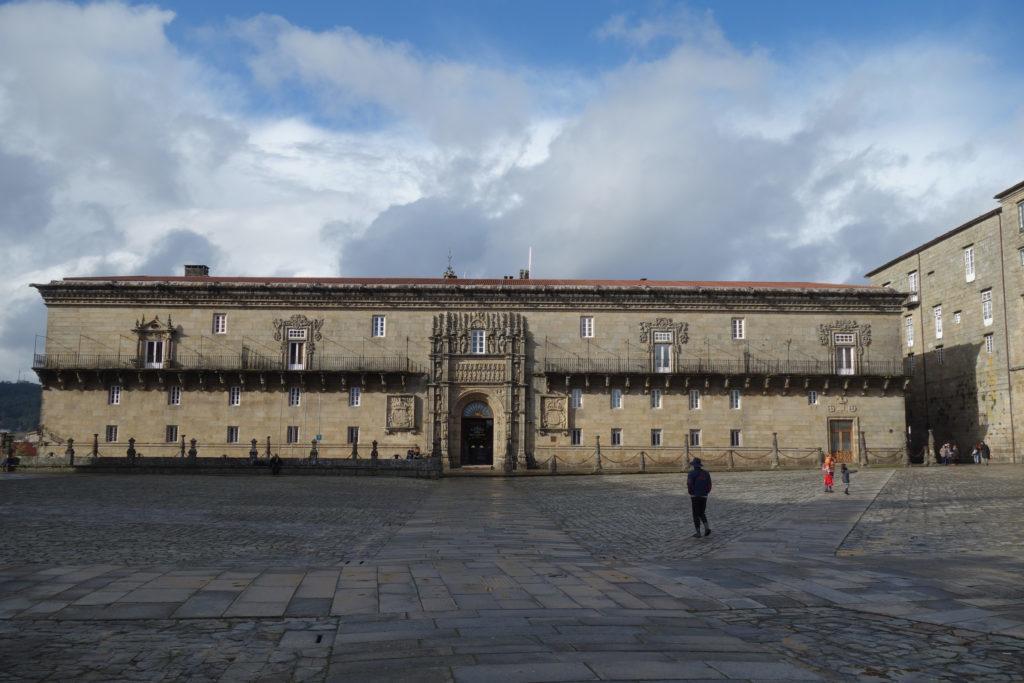 Обзор: Parador de Santiago de Compostela (Hostal dos Reis Católicos)