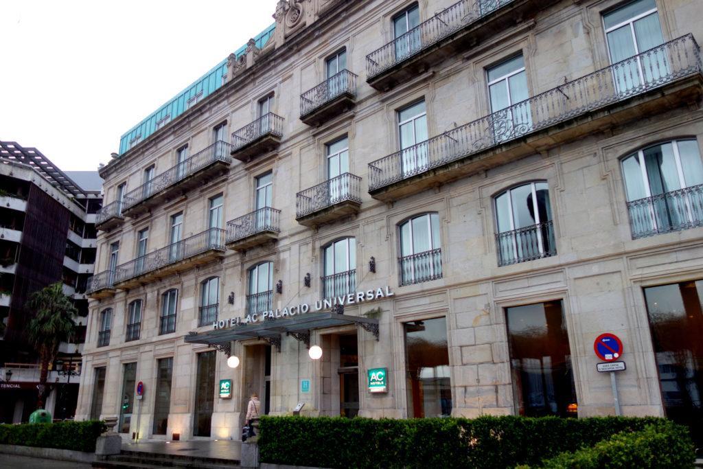 Обзор: AC Hotel by Marriott Palacio Universal, Виго
