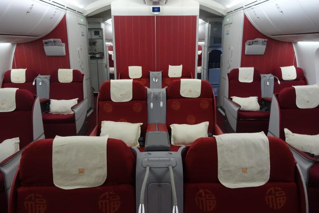 Бизнес-класс Hainan Airlines (Boeing 787-800) в 5 фотографиях